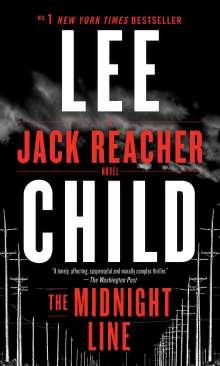 Lee Child: The Midnight Line, Buch