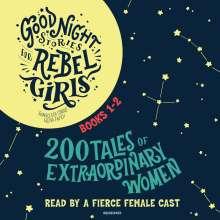 Francesca Cavallo: Good Night Stories for Rebel Girls, Books 1-2, 6 CDs