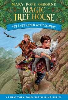 Mary Pope Osborne: Late Lunch with Llamas, Buch