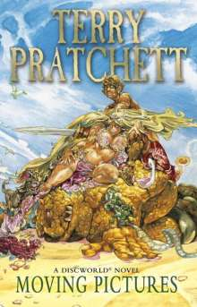 Terry Pratchett: Moving Pictures, Buch