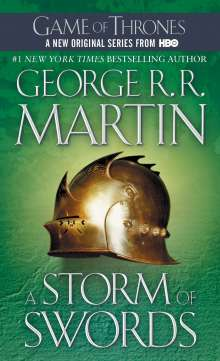 George R. R. Martin: A Song of Ice and Fire 03. A Storm of Swords 1, Buch
