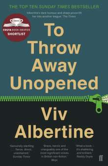 Viv Albertine: To Throw Away Unopened, Buch