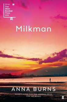Anna Burns: Milkman, Buch