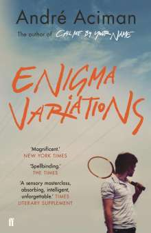 André Aciman: Enigma Variations, Buch