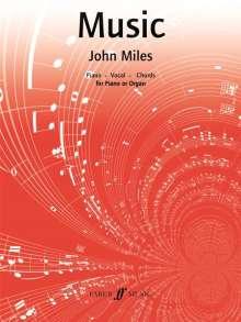 John Miles: Music, Noten