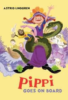 Astrid Lindgren: Pippi Goes on Board, Buch