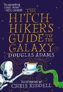 Douglas Adams: The Hitchhiker's Guide to the Galaxy: The Illustrated Edition, Buch