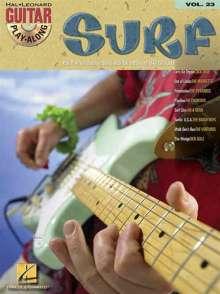 Guitar Play-Along Volume 23: Surf, Noten