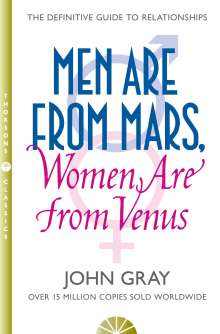 John Gray: Men are from Mars, Women are from Venus, Buch