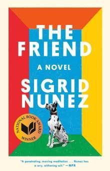 Sigrid Nunez: The Friend, Buch