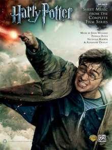 John Williams: Harry Potter -- Sheet Music from the Complete Film Series: Big Note Piano, Noten