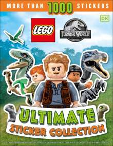 Julia March: Lego Jurassic World Ultimate Sticker Collection, Buch