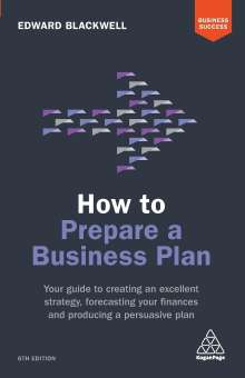Edward Blackwell: How to Prepare a Business Plan, Buch