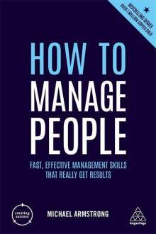 Michael Armstrong: How to Manage People, Buch