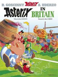 Asterix in Britain, Buch