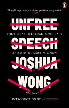 Joshua Wong: Unfree Speech, Buch