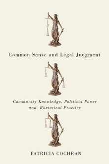 Patricia Cochran: Common Sense and Legal Judgment, Buch