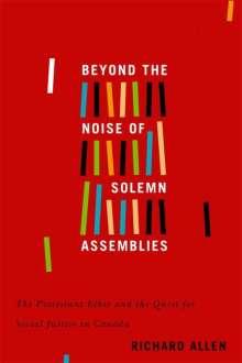 Richard Allen: Beyond the Noise of Solemn Assemblies, Buch