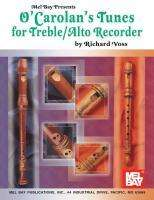 Richard Voss: O'Carolan's Tunes for Treble/Alto Recorder, Buch