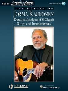The Guitar of Jorma Kaukonen: Detailed Analysis of 8 Classic Songs and Instrumentals [With Music CD], Buch