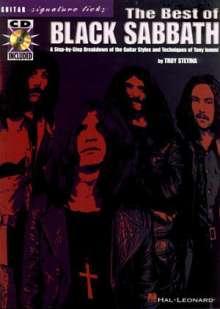 Black Sabbath: The Best of Black Sabbath [With CD (Audio)], Noten