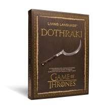 David J. Peterson: Dothraki, CD