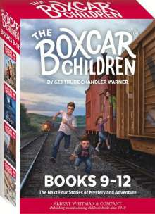 Gertrude Chandler Warner: The Boxcar Children Mysteries Boxed Set #9-12, Buch
