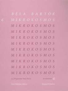 Bela Bartok: Mikrokosmos Volume 6 (Pink): Piano Solo, Noten