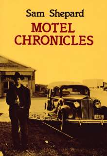 Sam Shepard: Motel Chronicles, Buch