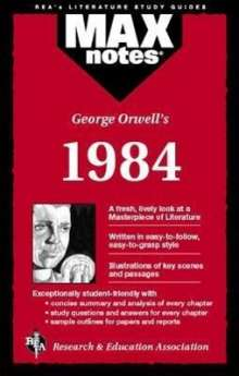 George Orwell: 1984 (Maxnotes Literature Guides), Buch