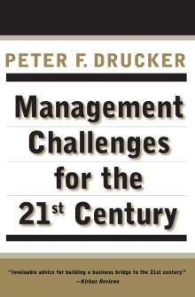 Peter F Drucker: Mgmt Challenges For 21st Ce Pb, Buch