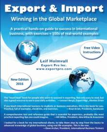 Leif Holmvall: Export & Import - Winning in the Global Marketplace, Buch