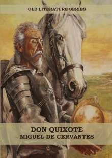 Miguel de Cervantes Saavedra: Don Quixote (Big Print Edition), Buch