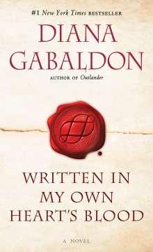 Diana Gabaldon: Written in My Own Heart's Blood, Buch