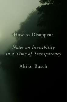 Akiko Busch: How To Disappear, Buch