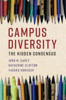 John M. Carey (Dartmouth College, New Hampshire): Campus Diversity, Buch
