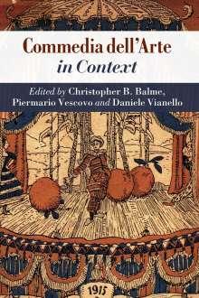 Commedia Dell'arte in Context, Buch