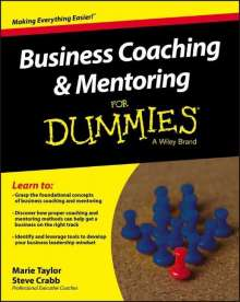 Marie Taylor: Business Coaching & Mentoring for Dummies, Buch