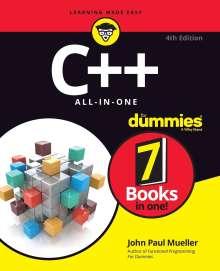 John Paul Mueller: C++ All-in-One For Dummies, Buch
