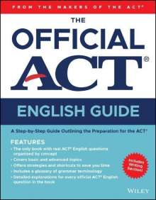 Act: The Official ACT English Guide, Buch