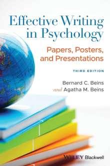 Bernard C. Beins: Effective Writing in Psychology, Buch