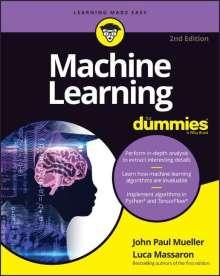 John Paul Mueller: Machine Learning For Dummies, Buch