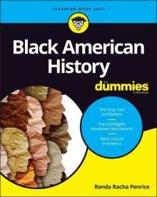 Ronda Racha Penrice: Black American History For Dummies, Buch