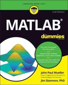 John Paul Mueller: MATLAB For Dummies, Buch