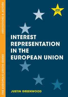 Justin Greenwood: Interest Representation in the European Union, Buch