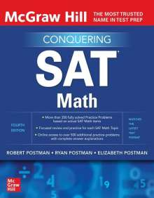 Robert Postman: McGraw-Hill Education Conquering SAT Math, Fourth Edition, Buch
