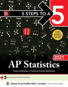 Corey Andreasen: 5 Steps to a 5: AP Statistics 2021, Buch