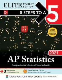 Corey Andreasen: 5 Steps to a 5: AP Statistics 2021 Elite Student Edition, Buch