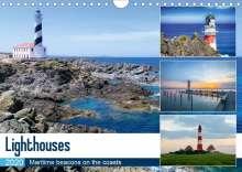 Christian Bosse: Lighthouses (Wall Calendar 2020 DIN A4 Landscape), Diverse