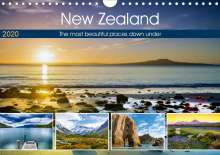 Christian Bosse: The most beautiful places down under (Wall Calendar 2020 DIN A4 Landscape), Diverse